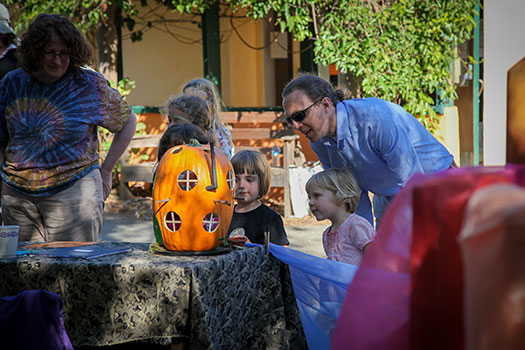 Crafts, games, and puppet shows await at the East Bay Waldorf School Harvest Fair.