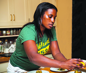 Abeni Ramsey has been hosting pop ups prior to her restaurant opening to test out menu ideas.