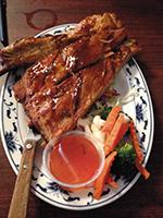 Sala Thai BBQ ribs