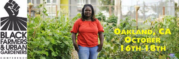 Kelly Carlisle, executive director of Oakland's Acta non Verba Youth Urban Farm Project, is a keynote speaker at the BUGS Conference.