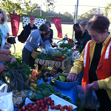 Locals shared the bounty from their fruit trees at a recent Berkeley swap.