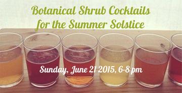 Botanical-Shrub-Cocktails-poster