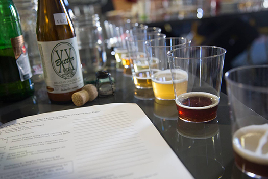 Craft beer experts share their wisdom and skills with students at the Food Craft Institute.