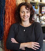 Flowerland's owner Carly Dennett