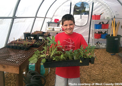 Kids and plants thrive with the help of West County DIGS, which supports school gardens in West Contra Costa County.