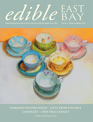 """Cover: """"Teacup Collection No. 1,"""" oil on canvas"""