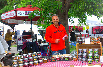 Grandma's Homemade will offer their scrumptious jams at Edible Tastings, coming up on June 14 & 15 at the Live Oak Park Fair.   (Photo courtesy of Jan Etre)