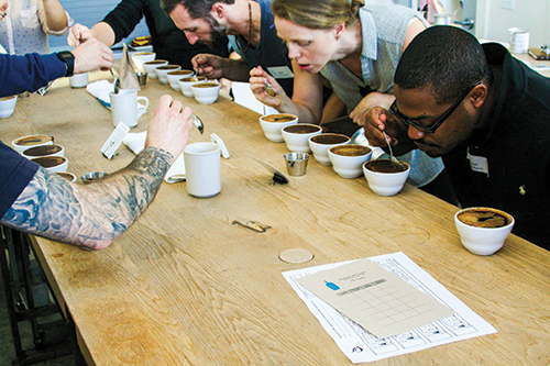 In Coffee Roasting & Retail, FCI students learn hands-on techniques and business savvy from coffee sector leaders and innovators.