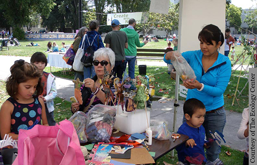 People of all ages will find ways to be creative and playful at the Ecology Center's annual Family Fun Festival.