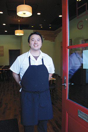 Peter Jee-Oh Chung has recently brought modern Korean cuisine to Pleasanton with his stylishly casual restaurant, Gan.