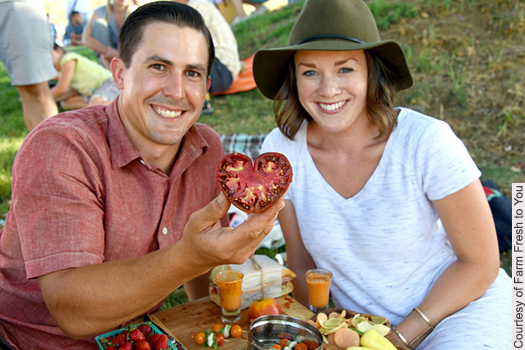 Sample your fill of tomatoes, ride the tractor tram, and settle in for a picnic at Capay Organic Farm.