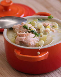 King-salmon-and-corn-chowder-from-The-Whole-Fish-by-Maria-Finn