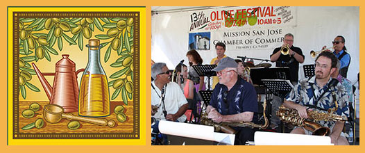 Live music is part of the fun at the Mission San Jose Chamber of Commerce Olive Festival. Photo courtesy of Don Jedlovec.