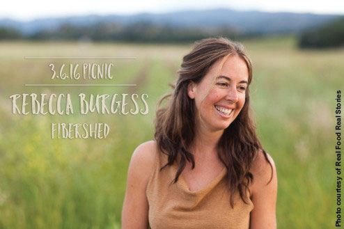 """West Marin fiber artist Rebecca Burgess started Fibershed by creating a """"bioregional wardrobe"""" in which all fibers and dyes were sourced within 150 miles of her home."""