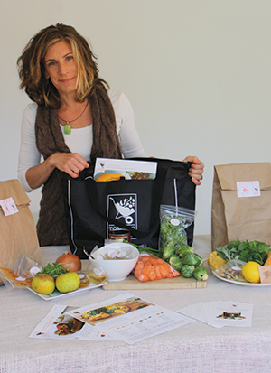 Stacey Waldspurger's Tomato Sherpa meal kits allow people to skip the grocery shopping and still get a home-cooked meal on the table.