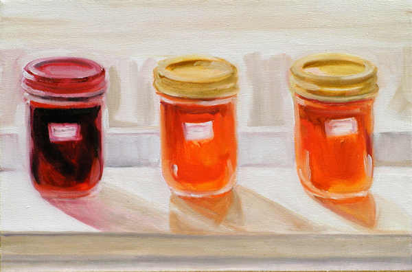 Wild Plum Jellies by J.R. Nelson