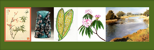 Works by local artists will be on display and for sale at the Berkeley Horticultural Nursery this Saturday.