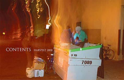 contents harvest 2008