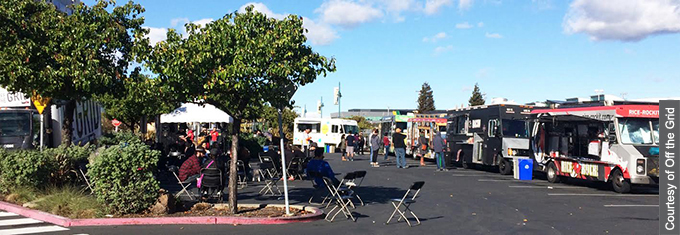 A new Off the Grid event will bring more food trucks to Emeryville  on the third Saturday of each month.