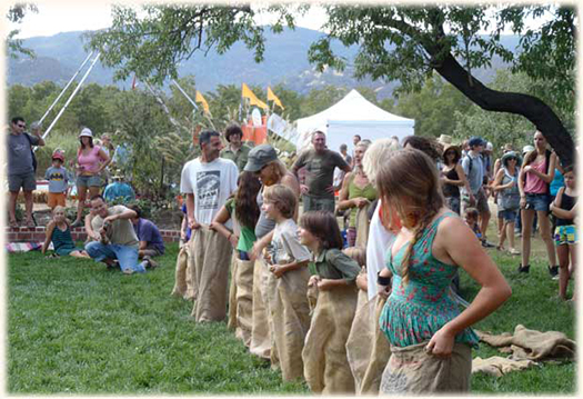 Old-fashioned family fun is the order of the day at the Hoes Down Harvest Festival.