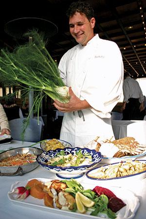 Bay Wolf Chef de Cuisine Louis Le Gassic