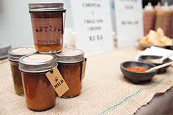 Mark Sorensen's Santipapas salsas are made at Oakland Kitchener and featured at Chang's pop up markets (facebook.comsantipapasalsa)
