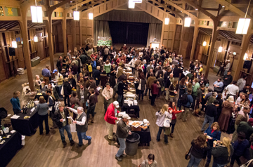 Wine Tasting in Asilomar's Merrill Hall
