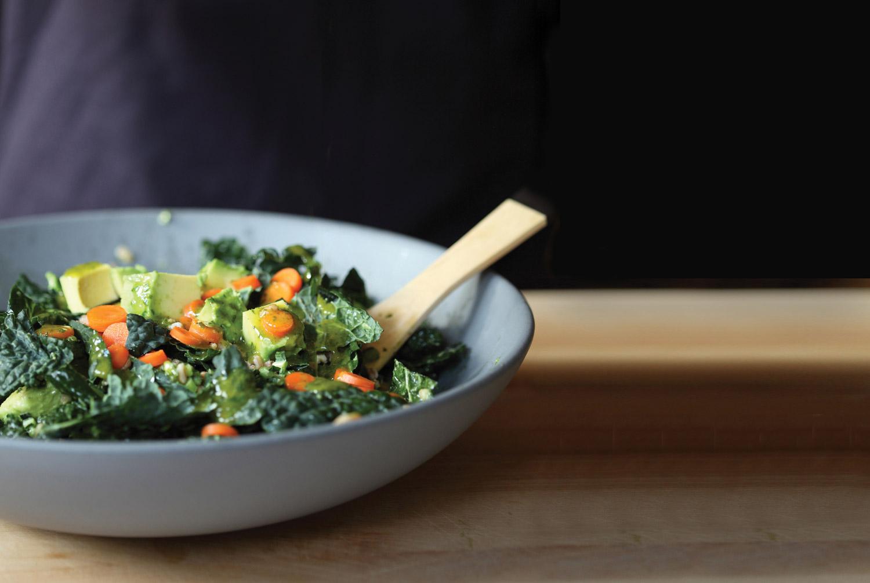 Kale-and-farro-salad